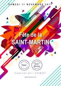 Flyer fête Saint-Martin - 11-11-2017
