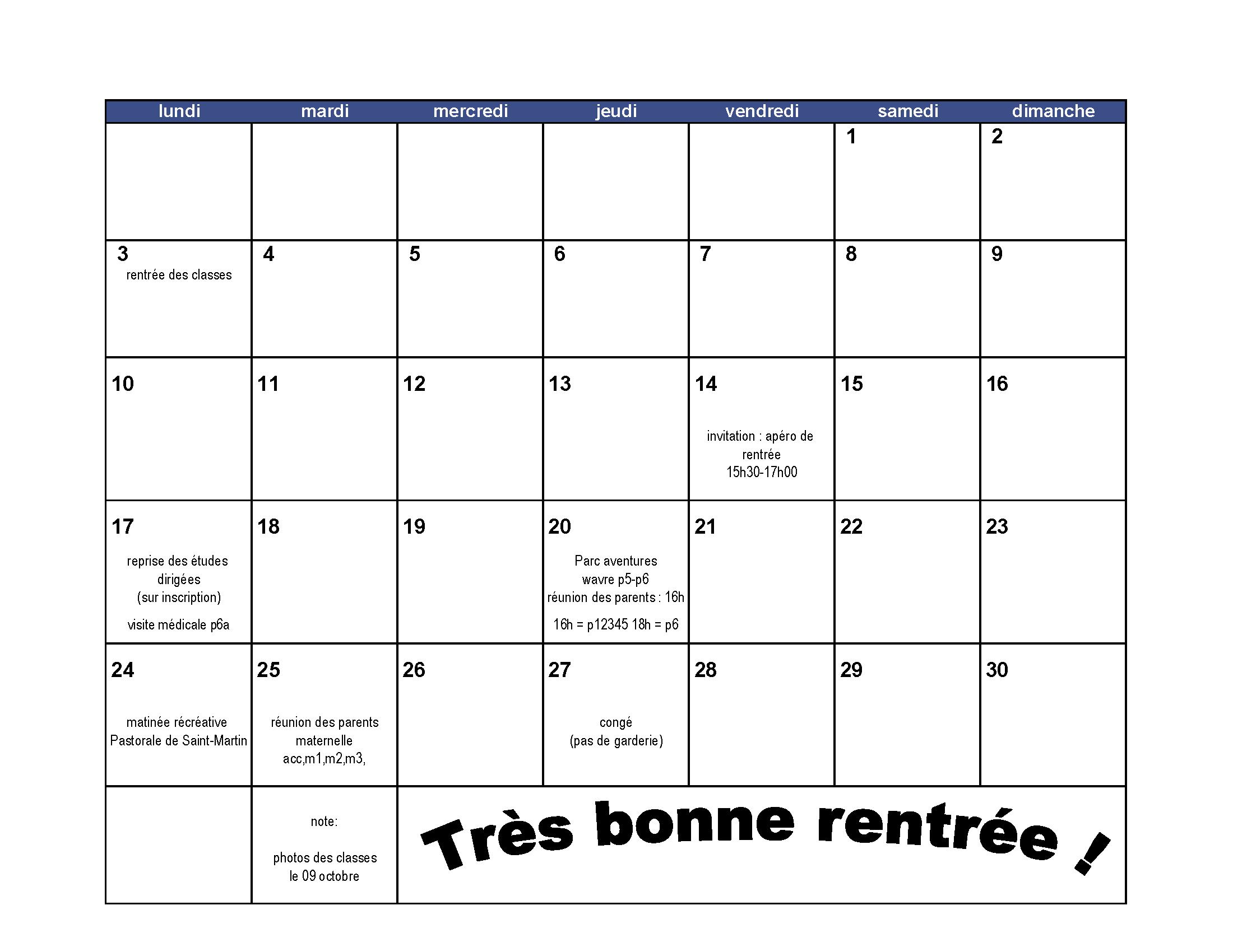 Calendrier Mensuel Juin 2019.Calendrier Mensuel Scolaire Archives Apsmart